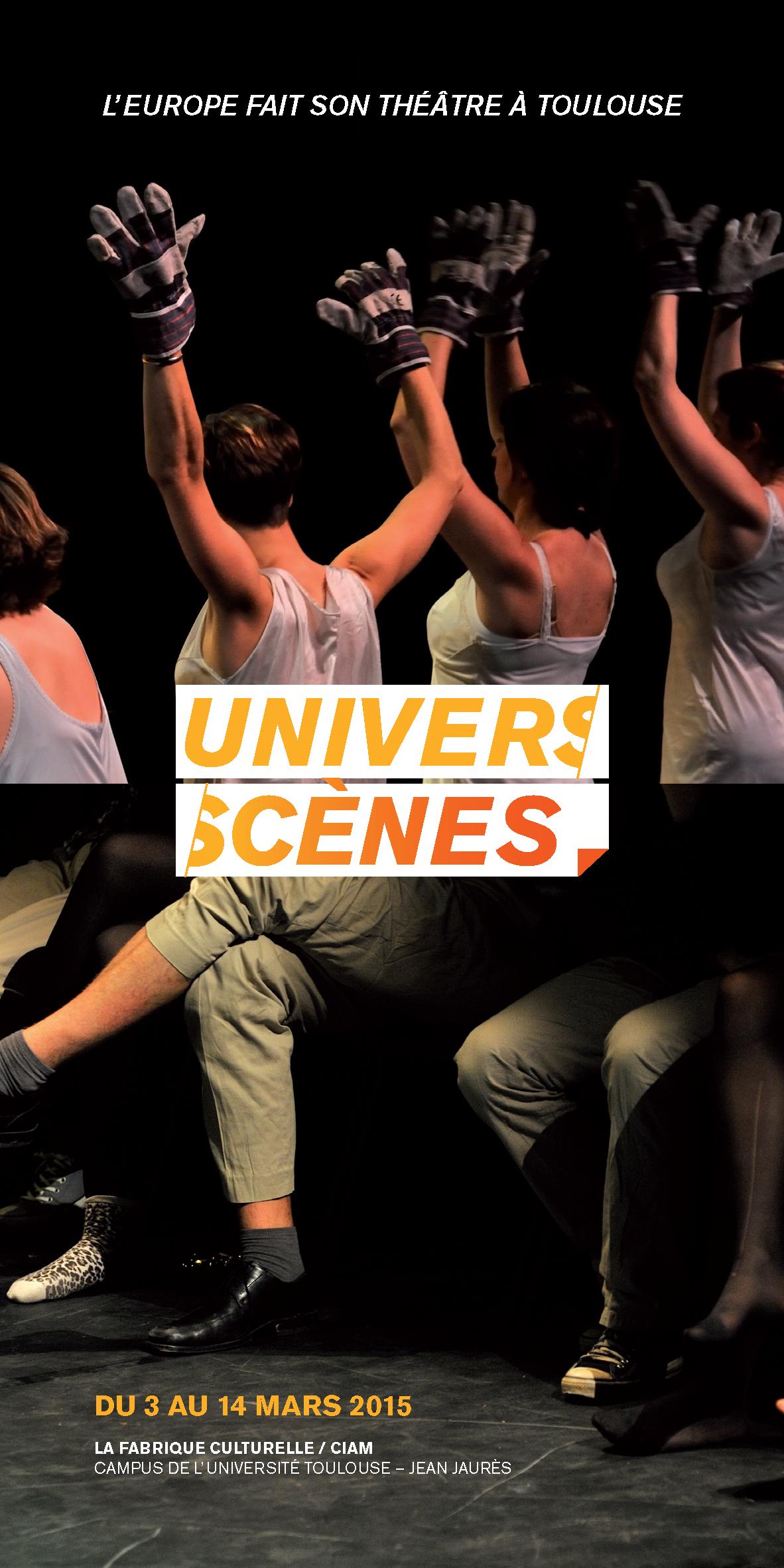 Programme Festival Universcènes du 3 au 14 mars 2015